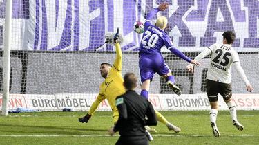 Der VfL Osnabrück verlor gegen den FC St. Pauli