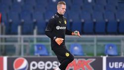 Luca Unbehaun ist beim BVB aktuell die Nummer drei