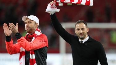 Ex-Schalke-Coach Tedesco und Ex-VfB-Profi Hinkel führten Spartak zur Vize-Meisterschaft
