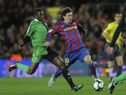 Der Versuch Lionel Messi zu stoppen