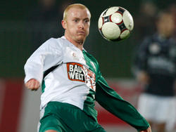Csizmadia spielte drei Jahre für den SV Mattersburg