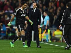 Gianluigi Buffon und Juve fehlte auch das Glück