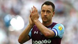 John Terry spielte zuletzt für Aston Villa