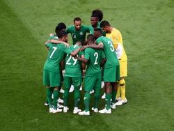 Bereit für die WM: Saudi-Arabien