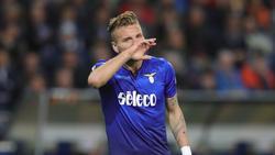 Ciro Immobile spielt in der italienischen Serie A für Lazio Rom