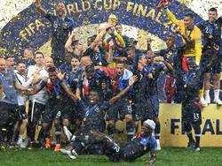 Frankreich hat die DFB-Elf auf dem WM-Thron abgelöst
