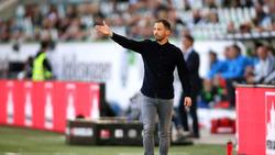 Schalke-Coach Domenico Tedesco erhob nach dem Spiel Vorwürfe gegen den Referee