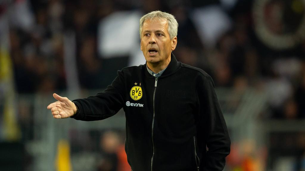 Sieht beim BVB noch Luft nach oben: Lucien Favre