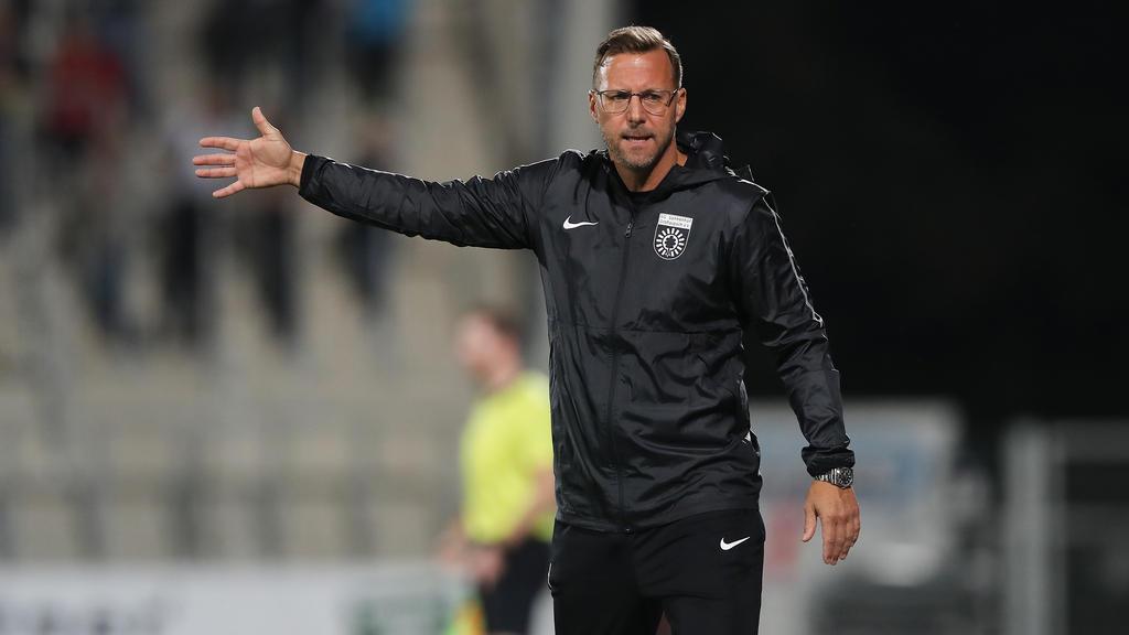 Sascha Hildmann ist nicht mehr Trainer von Großaspach