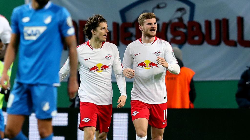 Matchwinner gegen Hoffenheim: Timo Werner (r.)