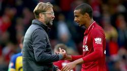 In Liverpool erfolgreich: Coach Jürgen Klopp und Joel Matip
