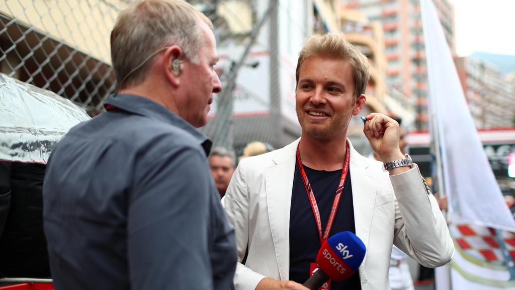 Nico Rosberg ist für RTL im Einsatz