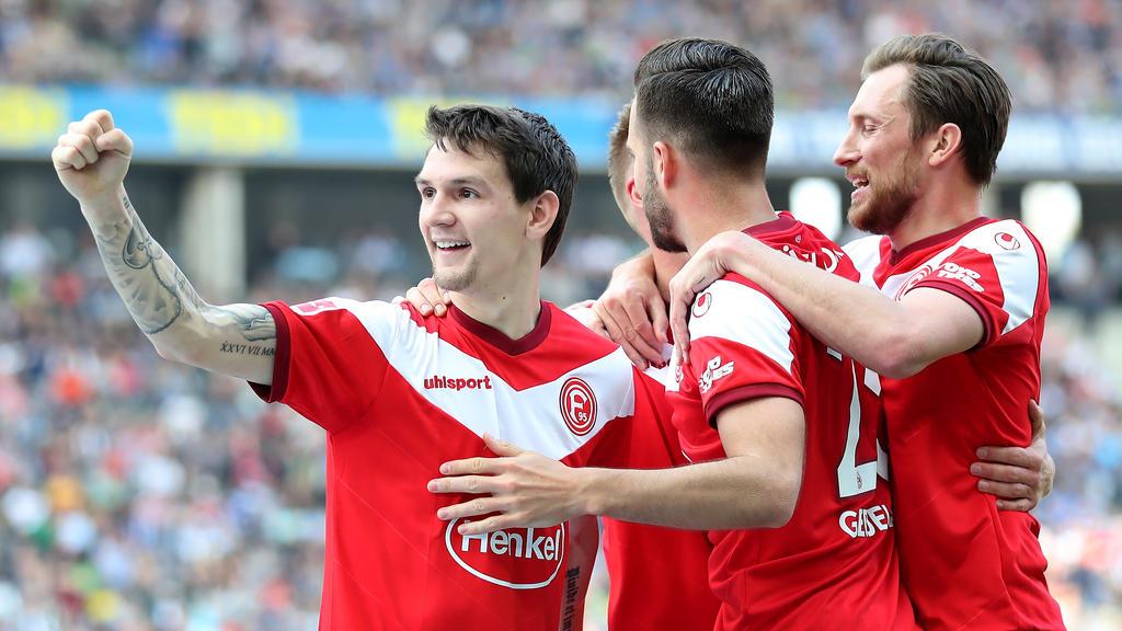 Fortuna Düsseldorf bleibt weiter in der Erfolgsspur