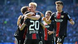 Bayer Leverkusen fertigte Hertha BSC mit einem 5:1-Sieg ab