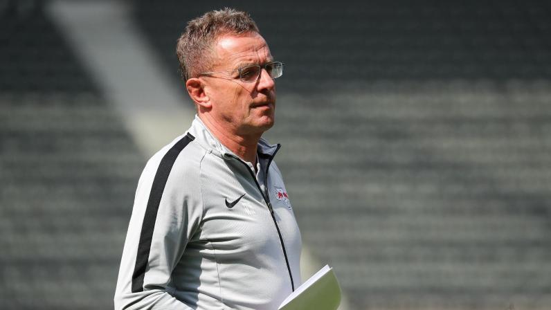 Ralf Rangnick soll das Interesse des FC Chelsea geweckt haben