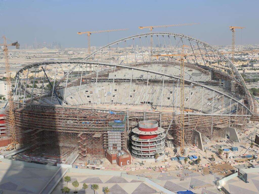 Auf einer Baustelle in Katar kam es zu einem Todesfall eines britischen Arbeiter