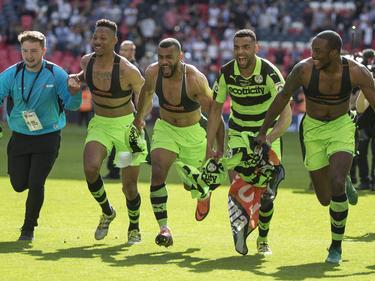 Die Forest Green Rovers stiegen in die vierte englische Liga auf
