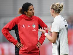 Steffi Jones und die DFB-Damen stehen aktuell besonders im Fokus