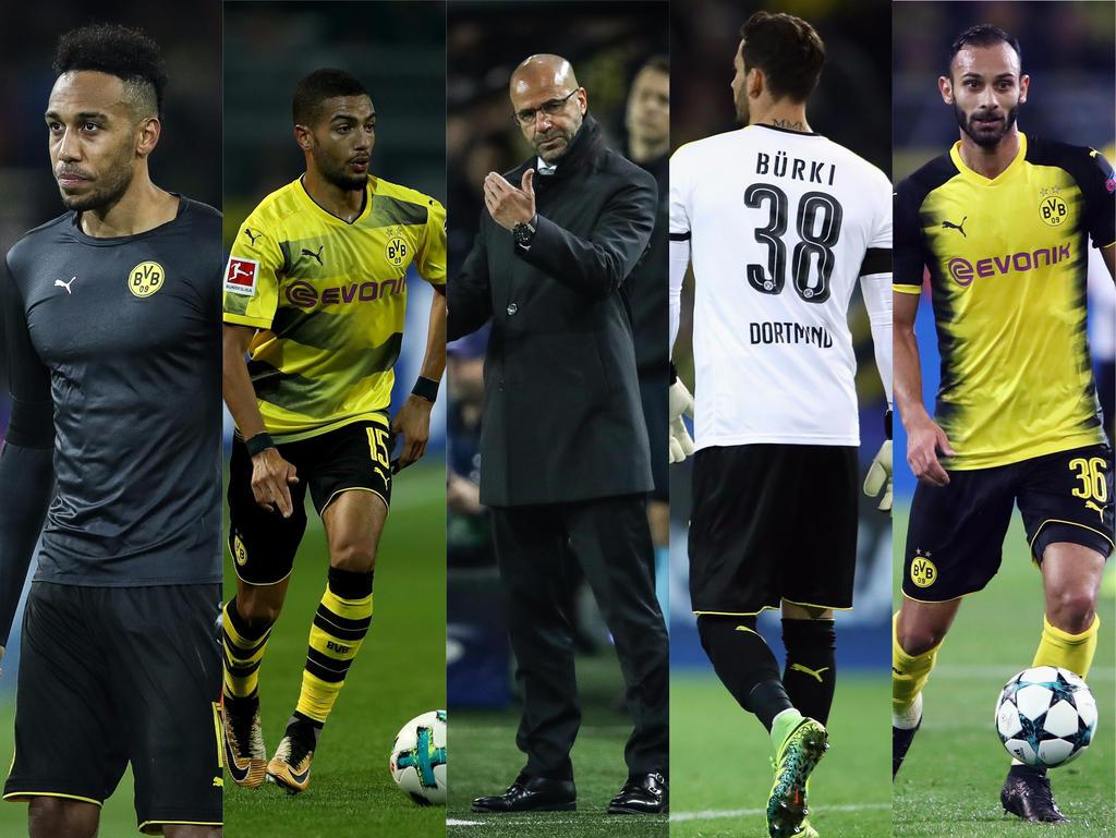 Vor dem Duell mit Bayern München gibs beim BVB einige Sorgenkinder