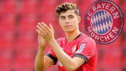 Kai Havertz wird beim FC Bayern gehandelt, Rudi Völler würde ihn lieber im Ausland sehen
