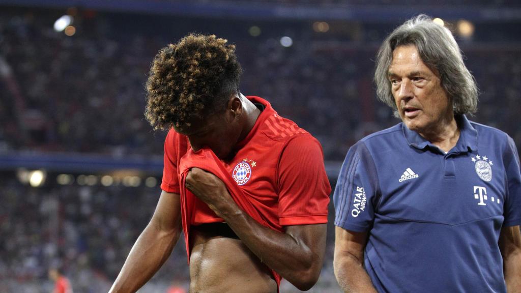Audi Cup | FC Bayern: Sorge um Coman überschattet Final