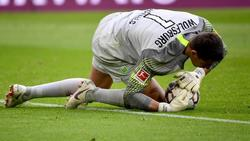 Verletzt: Wolfsburg-Keeper Koen Casteels. Foto: Peter Kneffel