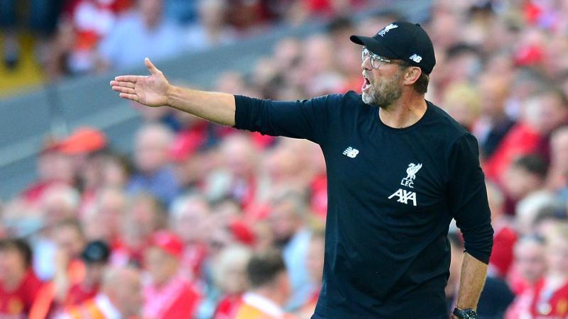 Liverpools Trainer Jürgen Klopp will