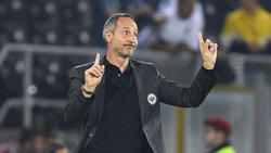Adi Hütter hat sich mit Eintracht Frankfurt blamiert