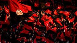 Die Fans des 1. FC Nürnberg