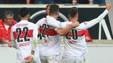 Der VfB Stuttgart hat das Derby gegen den KSC gewonnen