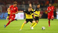 Der FC Bayern und der BVB treffen am Samstagabend im Top-Spiel aufeinander