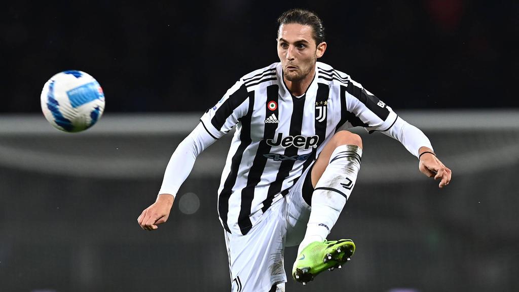 Adrien Rabiot von Juventus soll das Interesse des BVB geweckt haben