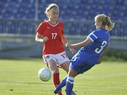 FUSSBALL - FIFA WM 2015, Quali, Damen, AUT vs FIN