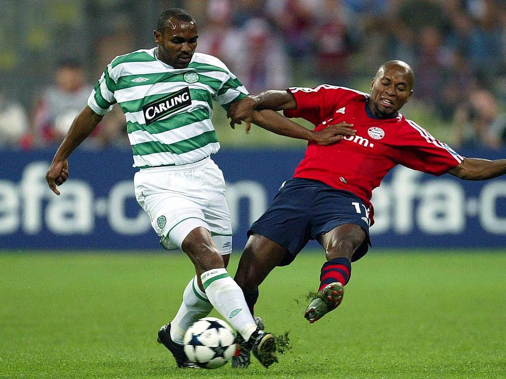 Didier Agathe gegen Zé Roberto in der Champions League 2003