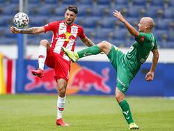 Salzburg und die WSG Tirol trennten sich 1:1