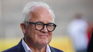 Warme Worte von DFB-Boss Fritz Keller