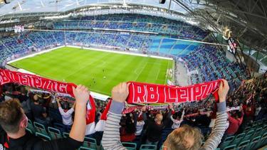 Beim Champions-League-Auftakt von RB Leipzig sind nur 999 Zuschauer im Stadion zugelassen