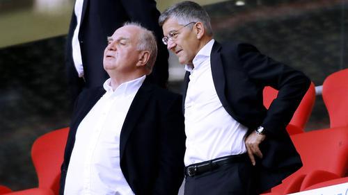 Uli Hoeneß und Herbert Hainer wollen den FC Bayern im Basketball etablieren