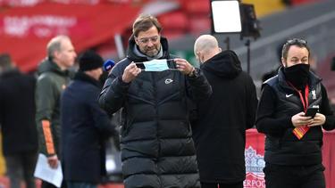 Jürgen Klopp steckt mit dem FC Liverpool in der Premier League im Tief