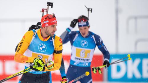 Arnd Peiffer war im Einzel-Rennen noch bester Deutscher auf Platz 11