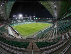Inzwischen ein gewohntes Bild: Das leere Allianz-Stadion im Westen Wiens