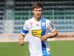 U21-Teamküken Dominik Baumgartner