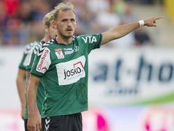 Marcel Ziegl bleibt der SV Ried treu
