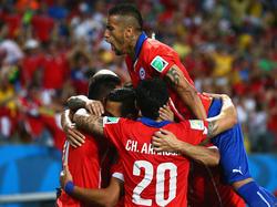 Am Ende obenauf: Chile bezwingt in der Gruppe B Australien