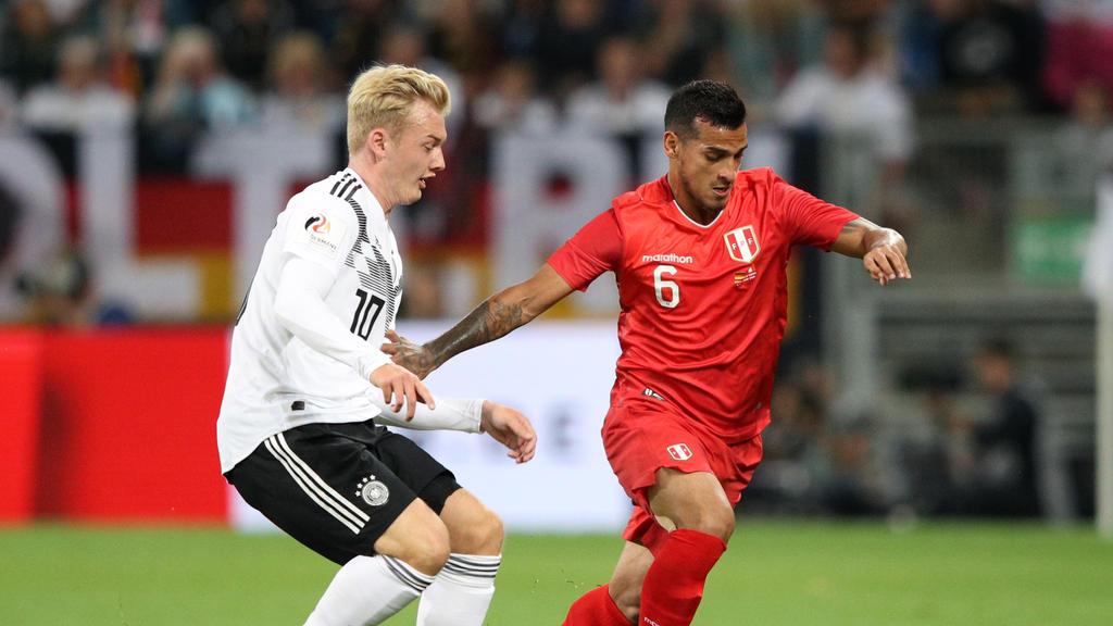 Julian Brandt erzielte den Ausgleich für die DFB-Elf