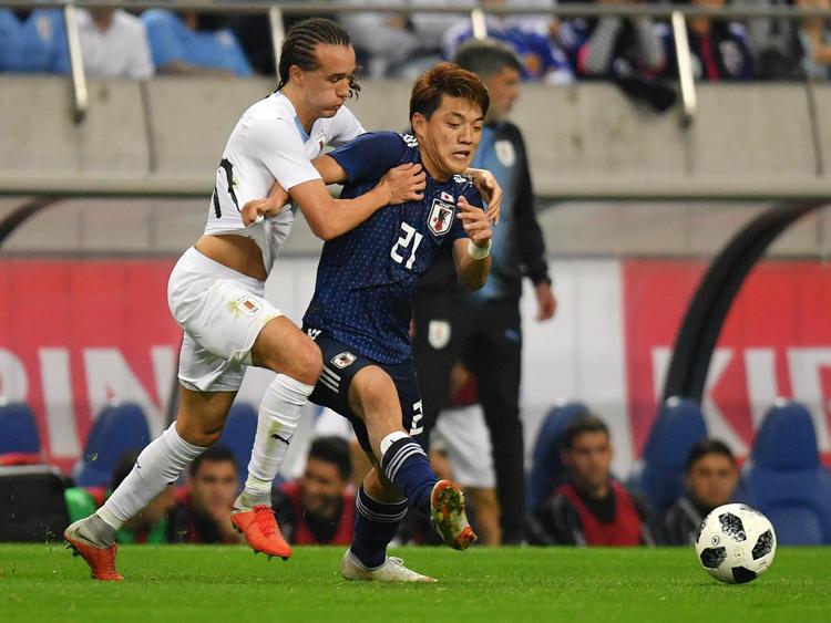 Los celestes no sabían cómo parar a los japoneses. (Foto: Getty)