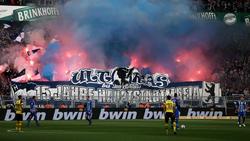 In Dortmund kam es zu Ausschreitungen von Hertha-Fans