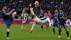 Cristiano Ronaldo verzückt Italien und Juventus Turin