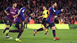 Messi fusiló al Celta con un buen zurdazo ajustado. (Foto: Getty)