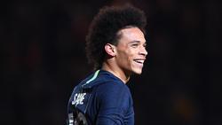 Leroy Sané trifft am Mittwoch mit Manchester City auf seinen Ex-Klub Schalke